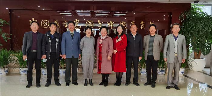 尹珊红率队赴京回访两个基金会